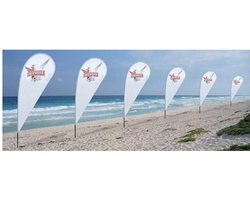 Tear Drop Beach Flags