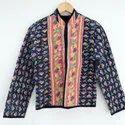 Floral Printed Kantha Jacket
