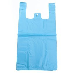 W Cut Plastic Carry Bag