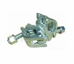 Color Galvanized Zinc Plated British Coupler(EN-8 Material)/ Right Angle Coupler Scaffolding, 0.75 Kg, Size: 48.3x48.3 Mm