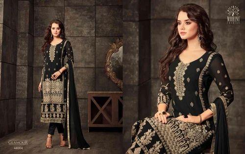 7713f1b87c Mugdha 44 Black Indian Bollywood Salwar Suit, Bollywood Salwar ...