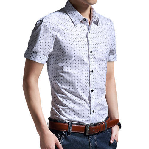 Men S Half Sleeve Casual Shirt