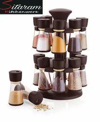 Welldecor 16 Jars Spice Rack