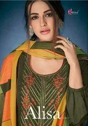 Muslin Silk Dress Materials