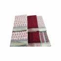 Ladies Bagh Print Cotton Saree