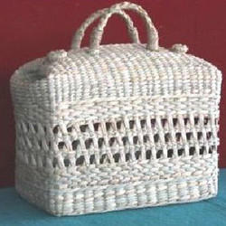 Bamboo Fancy Jali Picnic Bag