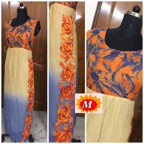 Ethnic Party Ladies Fancy Gowns