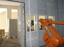 Thermal Spray Application Acoustic Enclosure
