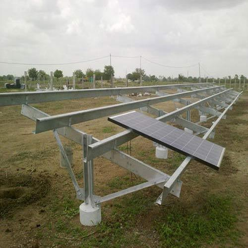 Solar Pv Mounting Structures Ground Mounted Structures