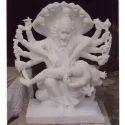 White Marble Narsingh Bhagwan Statue