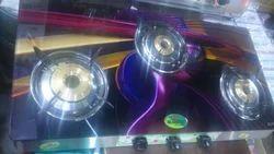 Digital Three Burner Glass Cook Top