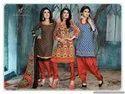 SF Kanjari Robin Hood 3 Top One Bottom Cotton Dress Material Collection Catalog