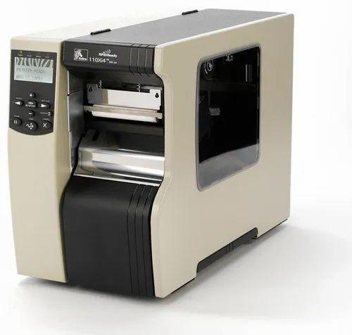 Retsol Black And White Zebra Barcode Printer - 110Xi4, USB