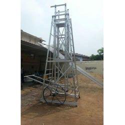 Big Iron Wheels Aluminium Ladder