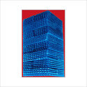 Blue Honeycomb PVC Fills