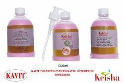 Keisha液体洗手,包装尺寸:500毫升