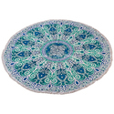 Mandala Cotton Printed Yoga Mat