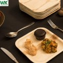 WOODYKRAFT  8 INCH  Areca Leaf Plate Eco Friendly, Dinnerware Plates , Natural and Biodegradable
