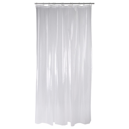 Plain Shower Curtains, Size: 180 Cm X 200 Cm