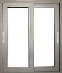 Anodaised / Powder Coatting 3 Track Jindal Aluminum Sliding Window, Size/dimension: 18 * 50 / 40