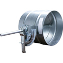 Circular Volume Control Damper, Shape: Rounded