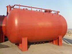 Mild Steel Chemical Storage Pressure Tank