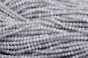 Natural Chalcedony Micro Round Shape Faceted Beads