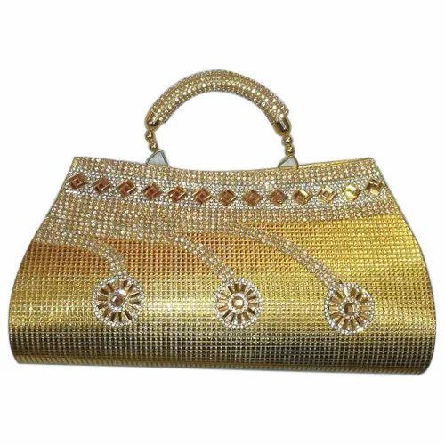Shishodia Purse Golden Ladies Bridal Hand
