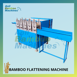 Bamboo Flattening Machine