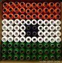 300 Mtrs Rainbow Mix Tiranga Sewing Thread