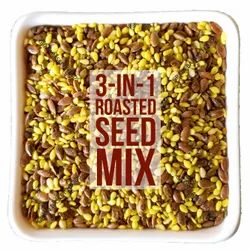 Chia-Sesame-Flax 3-in-1 Turmeric Roasted Seeds Mix