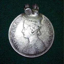 Silver Antique Victoria Empress Collectible