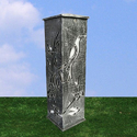 Bird Design Cast Iron Bollard DBL-105