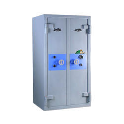 Double Door Metal Safe