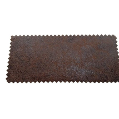 Brown Plain Soft Leather Fabric