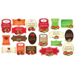 Printed Paper Sticker Labels, Packaging Type: Packet, Glossy