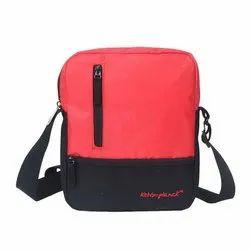 Kelvin Planck Polyester Casual Wear Black Sling Bags