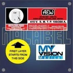 Vinyl Sticker, Packaging Type: Packet