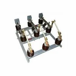 600 A Gang Operated Air Break Switch, Medium-Voltage, 11 Kv