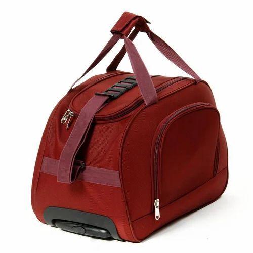efc4b9ad7f Himalaya Red Trolley Duffle Bag