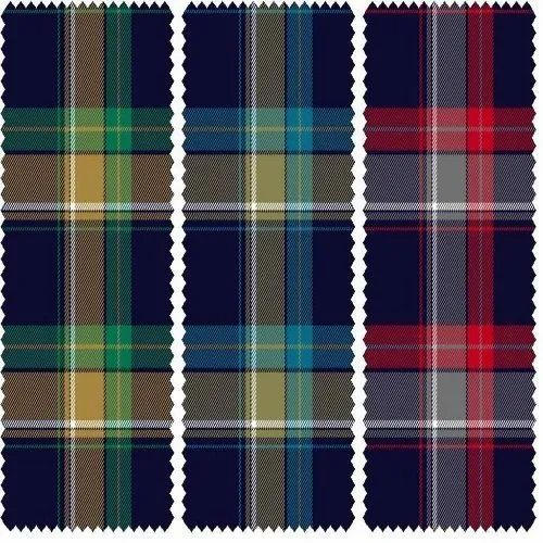 Cotton Big Checked Fabrics, GSM: 100-150