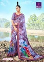 Pure Weightless Georgette Printed Saree