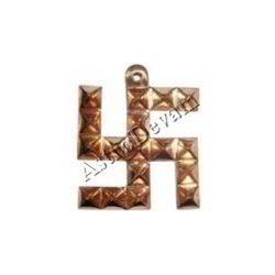 Copper Swastik Pyramid Pyramid for Removing Obstacles