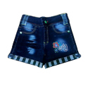 Casual Wear Embroidered Designer Kids Shorts, Age: 7-9 Years
