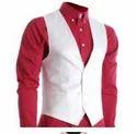 White Casual And Wedding Men Waistcoat