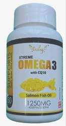 Salmon Fish Oil Capsules, Prescription, 1250 mg