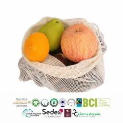 GRS Recycle Cotton Mesh Bags