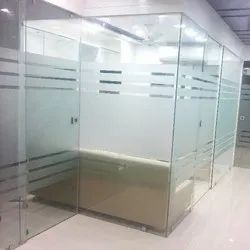 DIPL On Site Glass Partition, Shape: As desired