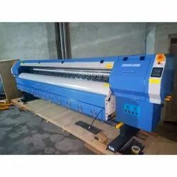 Konica 512 Flex Printing Machine, Weight: 550kg