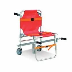 Folding Staircase Stretcher Chair, Stainless Steel